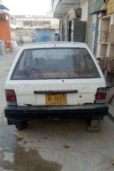 Subaru Justy GL 1990 Image-1