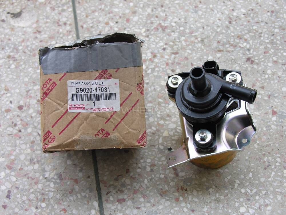 PRIUS Toyota 1NZ-FXE, 1.5 Inverter Cooler pump original Fits in 2003 - 2008 & 2011 /12 Image-1