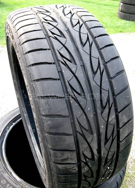 195/60R15 Firestone tyres set  very attractive pattern 8/10 Image-1