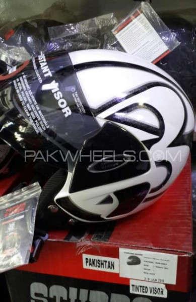 Original Indian Open face helmet Original Indian Open face helmet Image-4 Original Indian Open face  Image-1