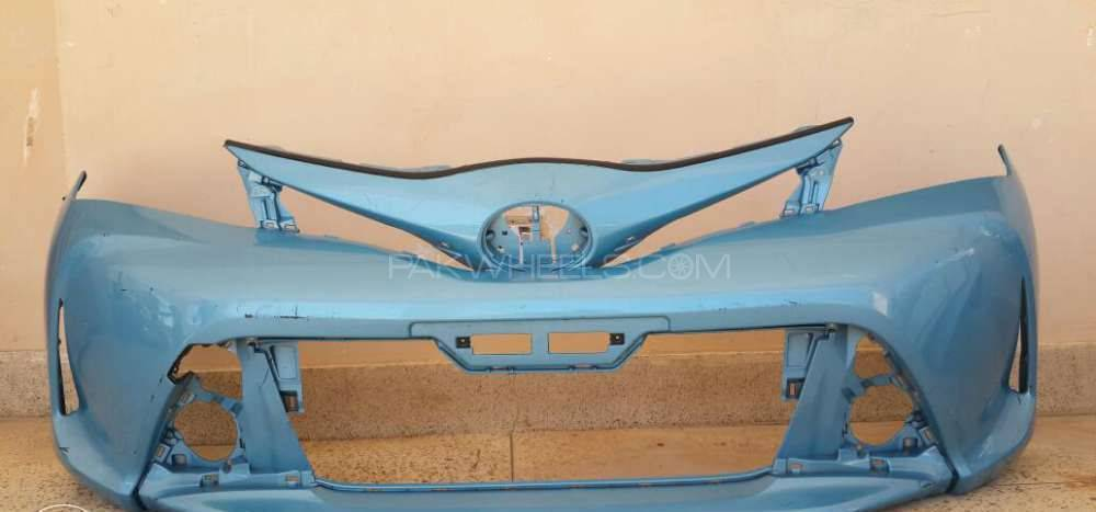 Toyota vitz bumpers and head lights Image-1