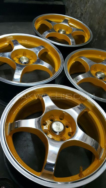 alloy rim 16 inch 100 and 114 pcd Image-1