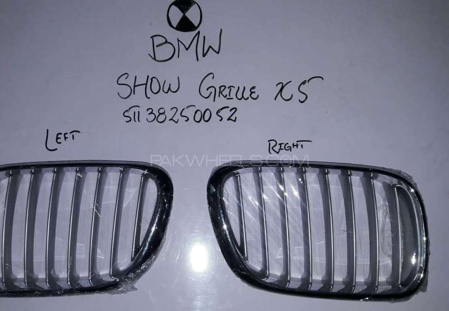 Bmw : Show Grille X5 Image-1