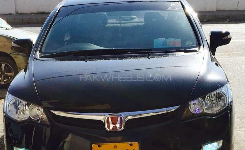 Honda Civic VTi Oriel Prosmatec 1.8 i-VTEC 2007 Image-1