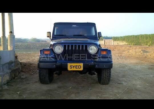 Jeep Wrangler 1996 Image-1