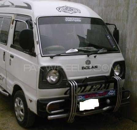 Suzuki Bolan GL 1986 Image-1