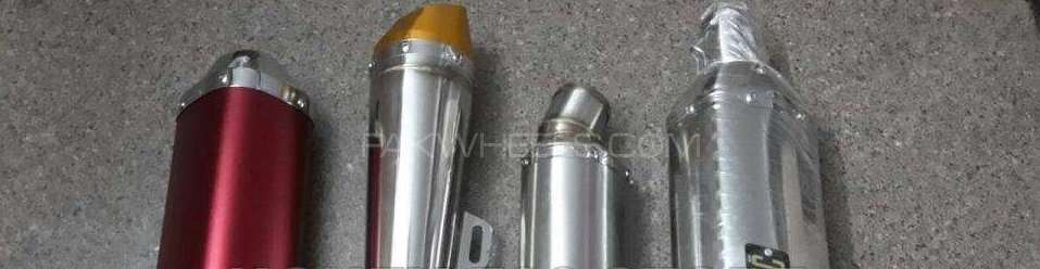 Orignal exhaust mufflers for ybr 125 Image-1