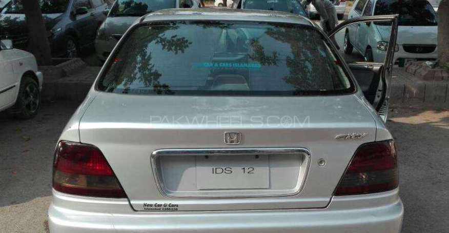 Honda City EXi S Automatic 2002 Image-1