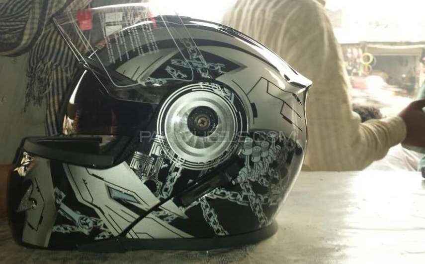 Spark flip up helmet special addition Image-1