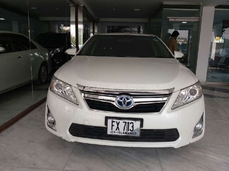 toyota camry hybrid 2012 for sale in islamabad pakwheels. Black Bedroom Furniture Sets. Home Design Ideas