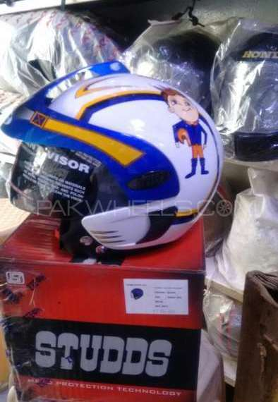 Original Indian Kids STUDDS Helmet Image-1