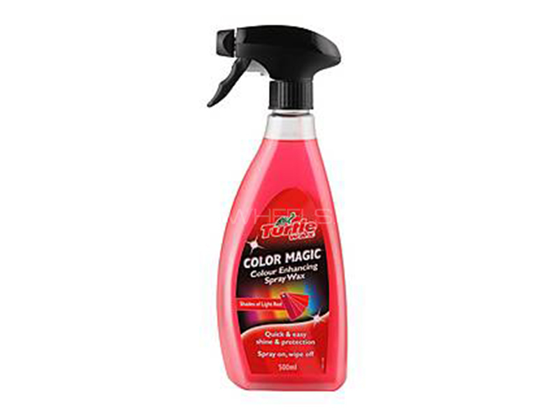 Turtle Color Magic Spray Wax Red in Lahore