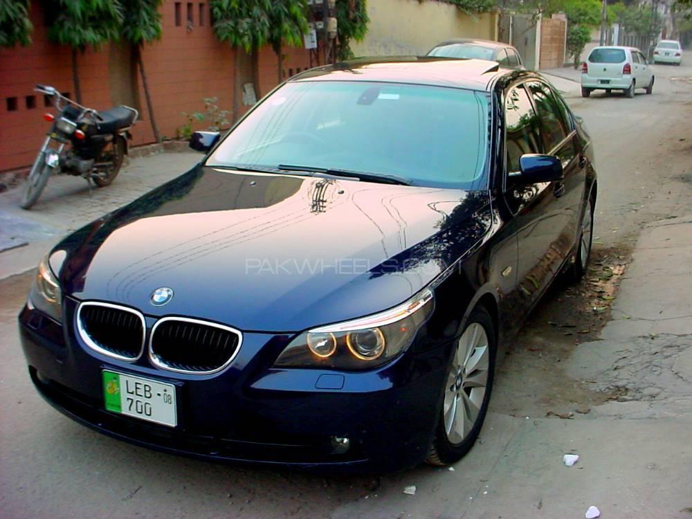 Worksheet. BMW 5 Series 530i 2005 for sale in Lahore  PakWheels
