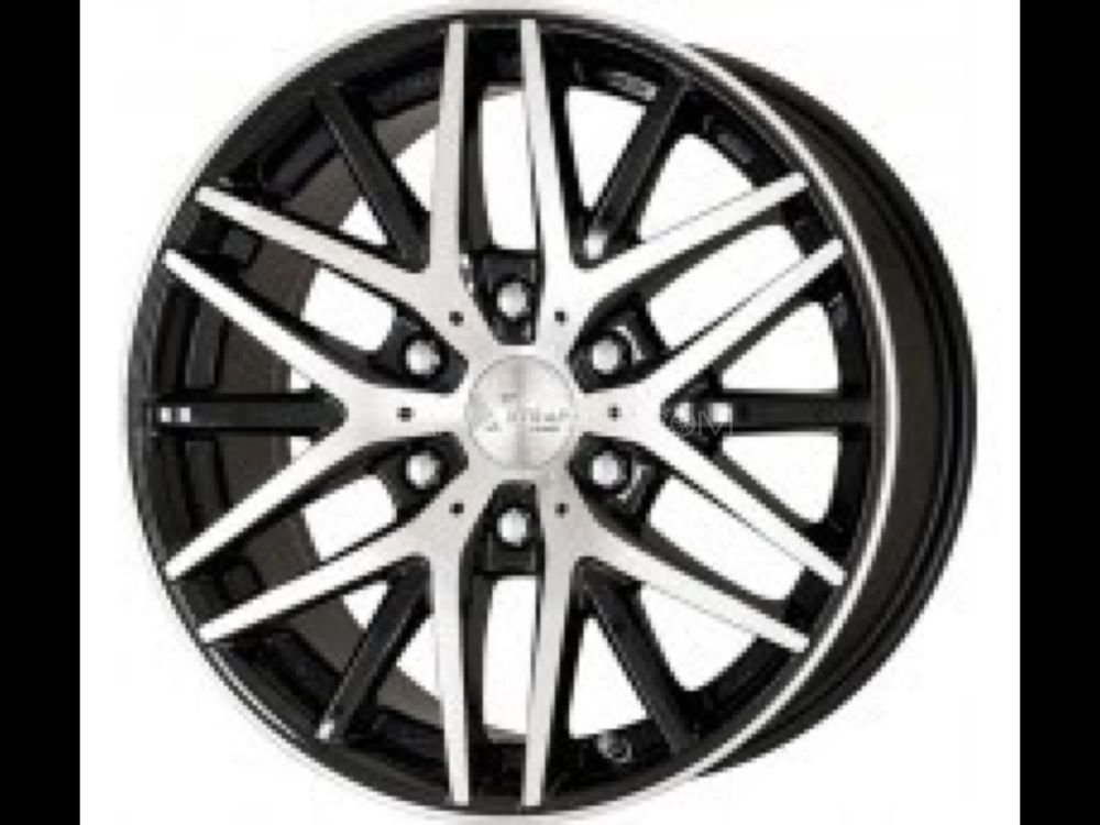 orignal Japnese works 20 inch rims for landcruiser etc Image-1