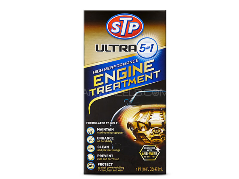 STP Ultra 5in1 Hi Performance Engine Treatment Image-1