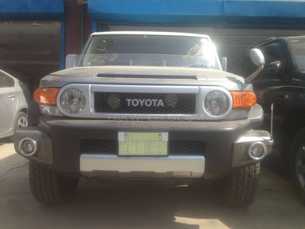 Toyota Fj Cruiser 2011 Image-1