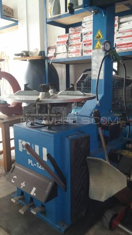 puli PL-1200 wheel changer Image-1