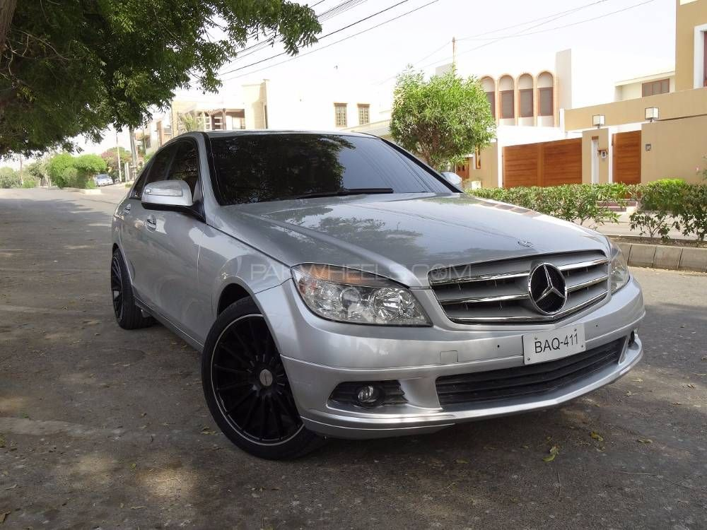 mercedes benz c class 2007 for sale in karachi pakwheels. Black Bedroom Furniture Sets. Home Design Ideas