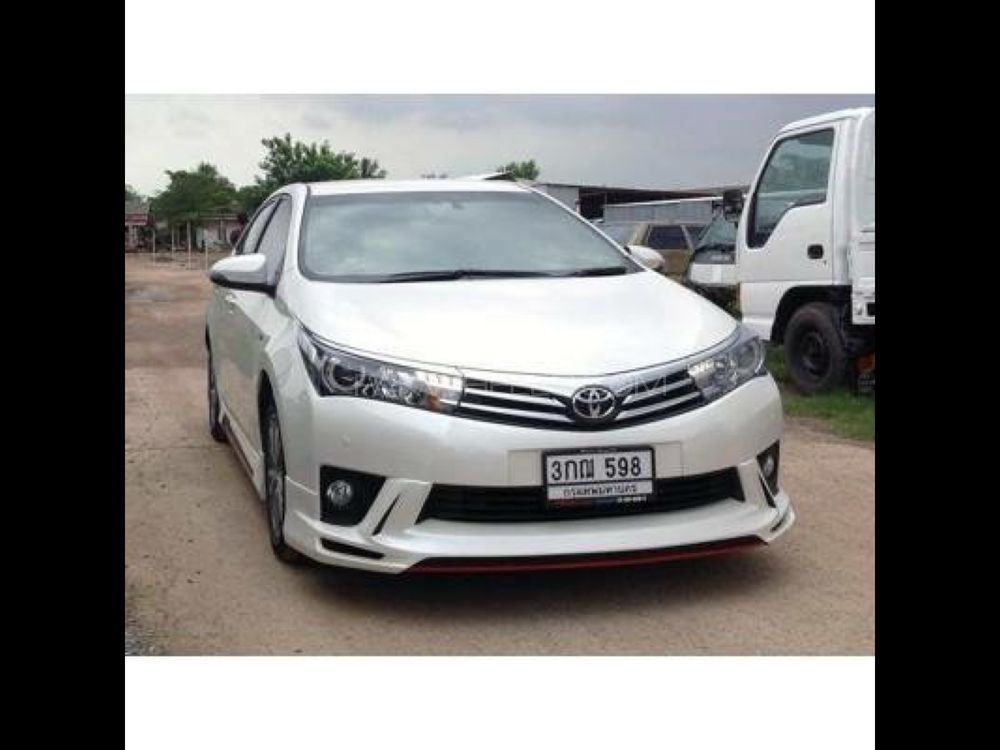Corolla Body kit 15-16 Image-1