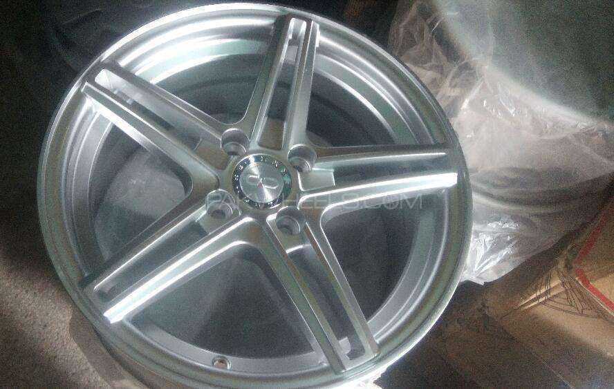 15 inch sports star rims Image-1