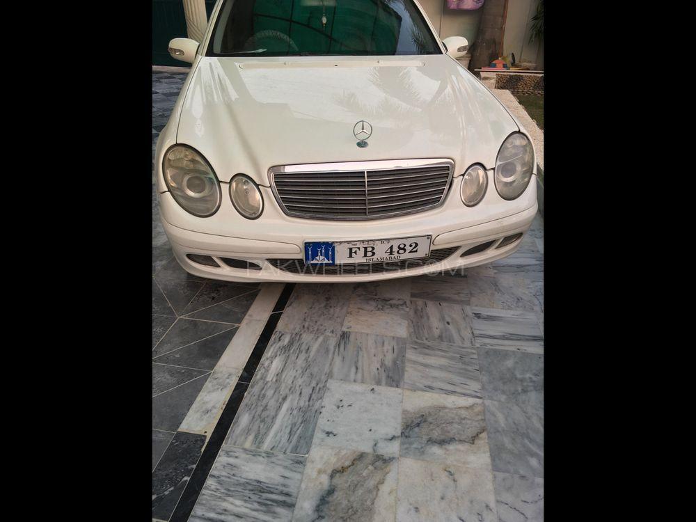 Mercedes Benz E Class E220 CDI 2006 Image-1