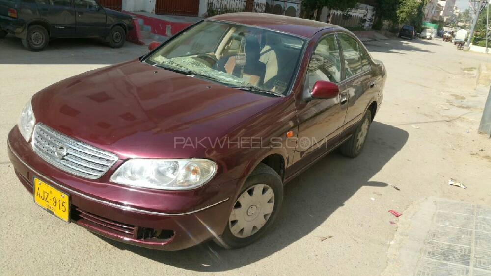 Nissan Sunny EX Saloon 1.3 (CNG) 2006 Image-1
