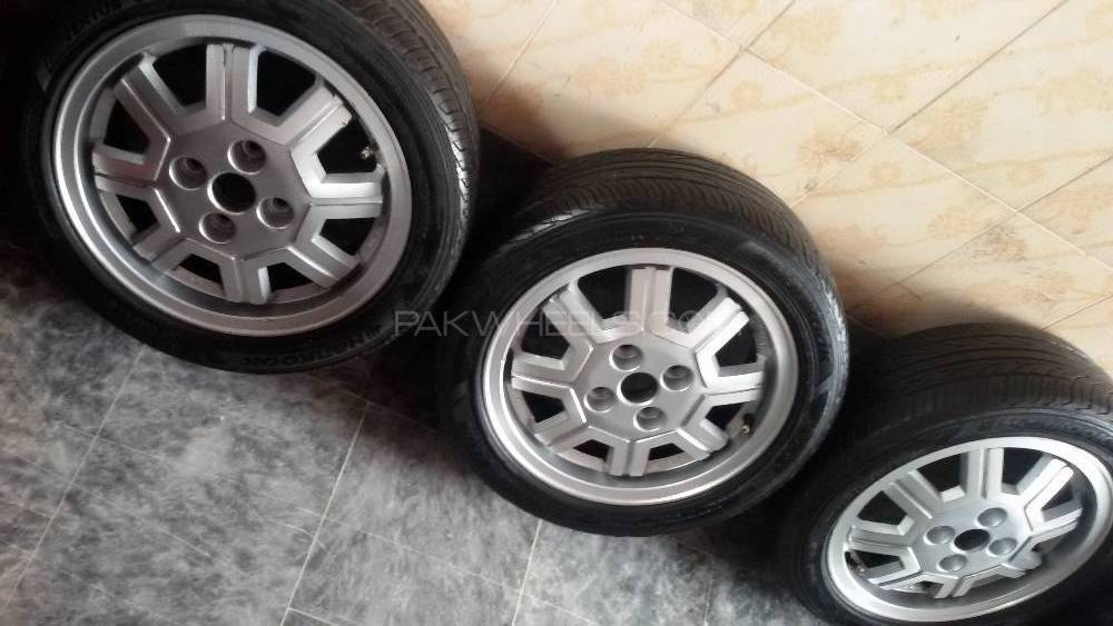 165/55R14 Tyres & rims set outstanding condition no fault Image-1