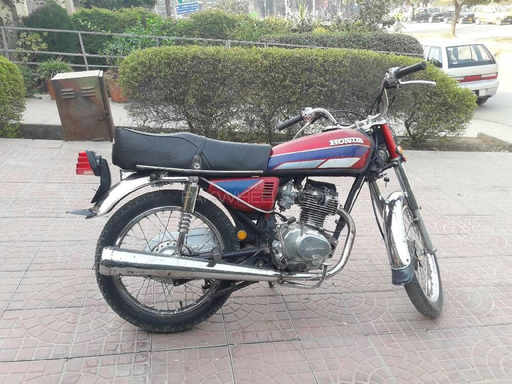 Honda CG 125 1991 Image-1