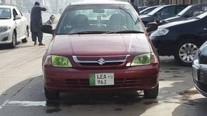 Suzuki Cultus VXRi (CNG) 2012 for Sale in Lahore