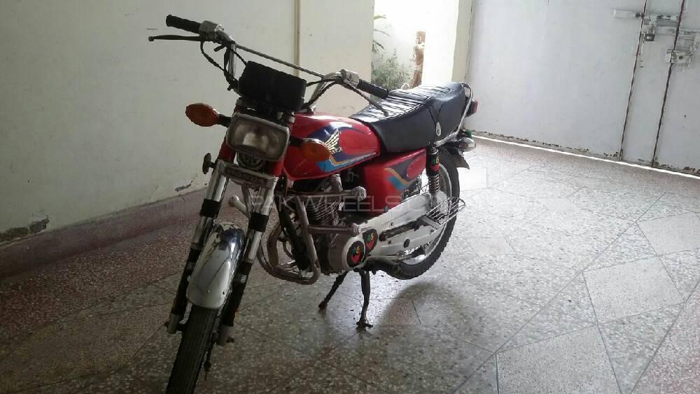 Honda CG 125 1999 Image-1