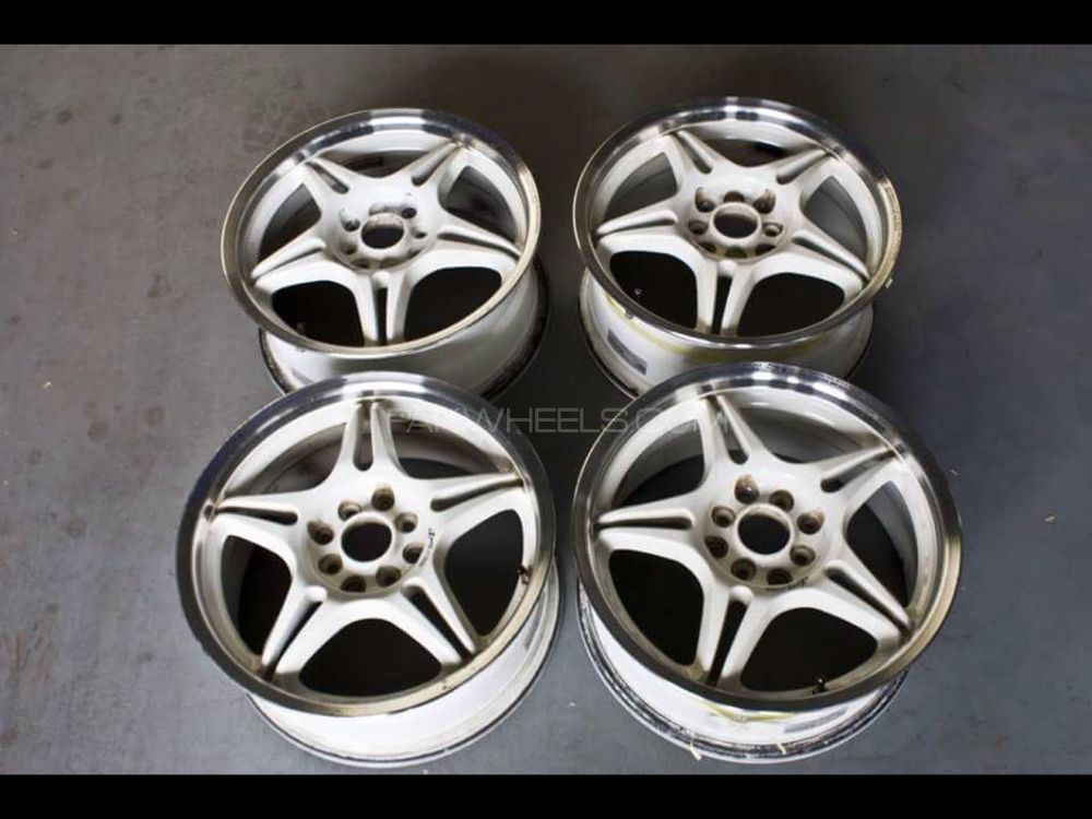 SSR Type V wheels 16inch rims Image-1