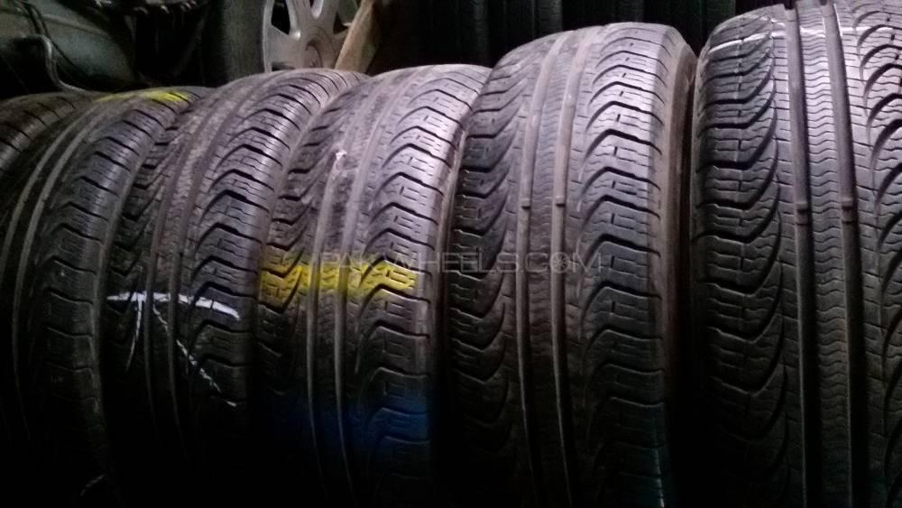 195/65R15 Pirelli tyres  sets extraordinary condition   Image-1