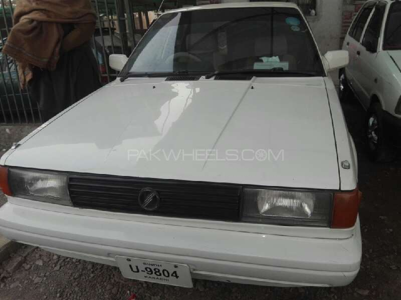 Nissan Sunny EX Saloon 1.6 1989 Image-1