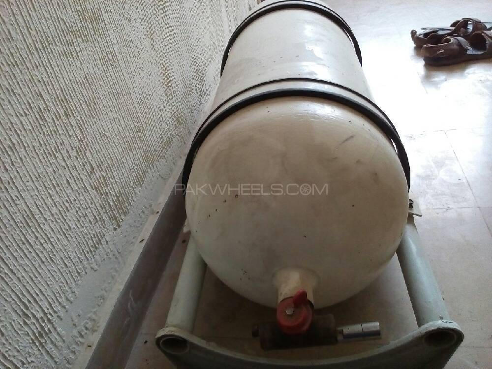 Factory fitted cylinder with kit Image-1