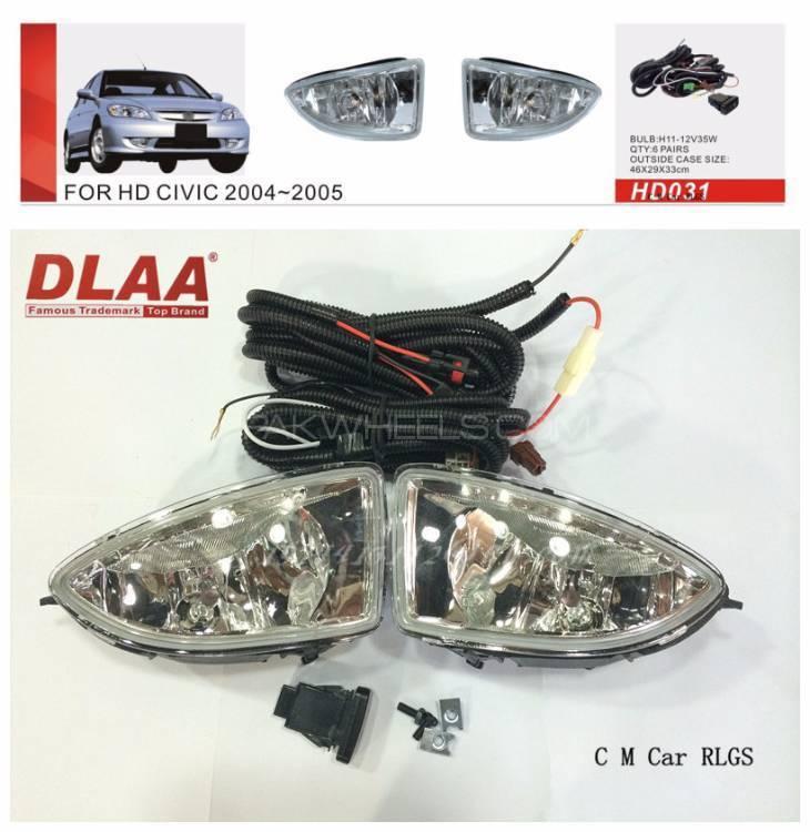 Honda Civic Cf4 2005 Foglamp  Image-1