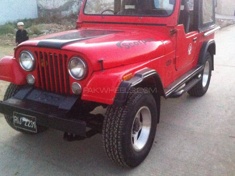Jeep Cj 7 1984 Image-1