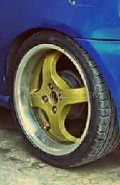 """17"""" lenso ultralight weight 4 rims with tyres Image-1"""
