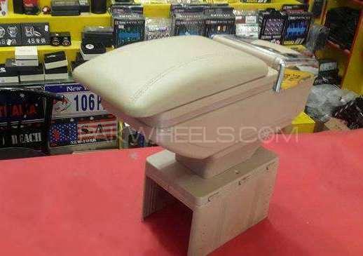 Sliding Leather Plastic Armrest  Image-1
