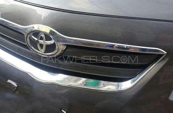 Toyota Corolla Chrome Grille Lip  Image-1