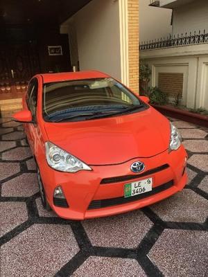 Toyota Aqua 2012 for Sale in Lahore