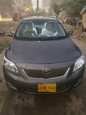 Toyota Corolla GLi 1.3 VVTi 2009 for Sale in Karachi