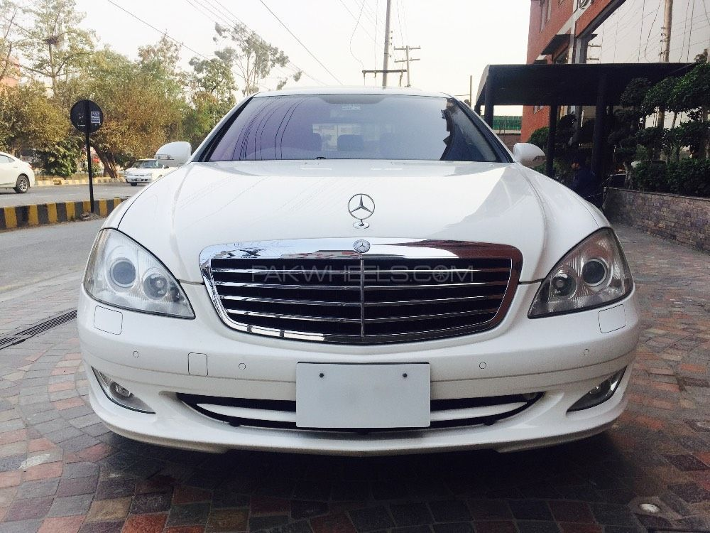 Mercedes benz s class s500 2007 for sale in lahore pakwheels for 2007 mercedes benz s class s550 for sale