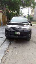 Toyota Fortuner 2015 for Sale in Lahore