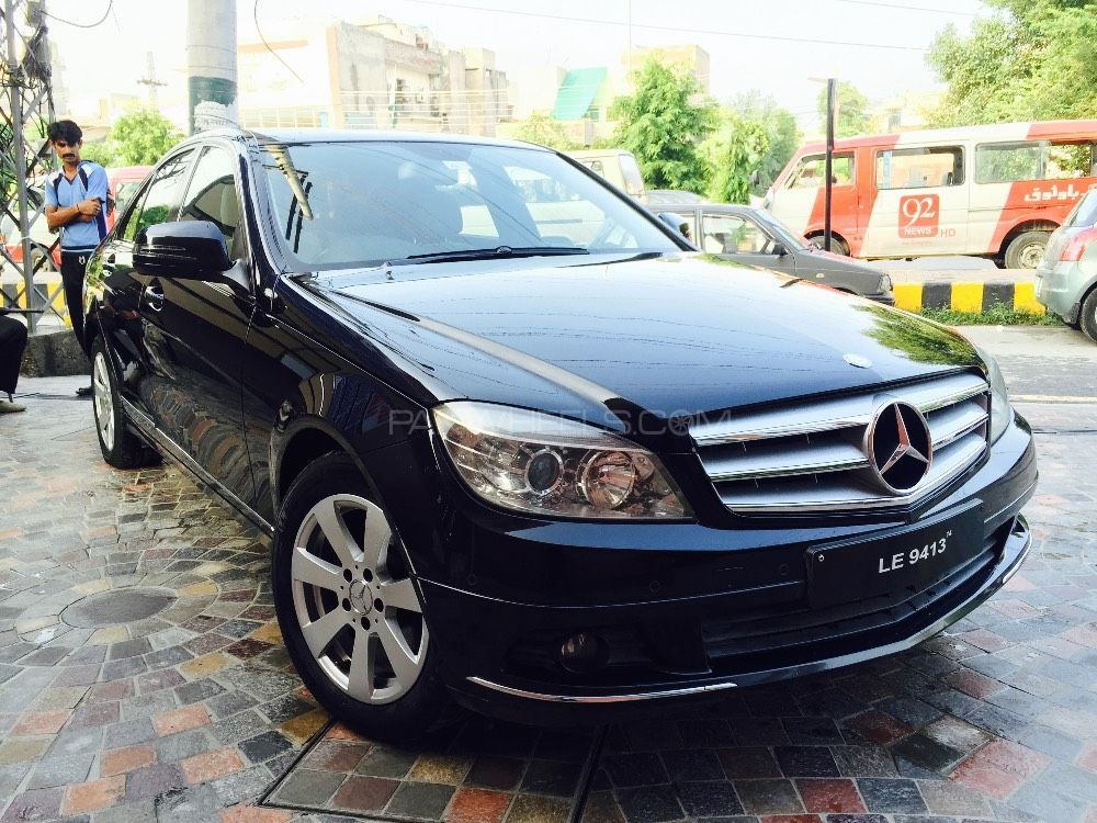 mercedes benz c class c180 2007 for sale in lahore pakwheels. Black Bedroom Furniture Sets. Home Design Ideas