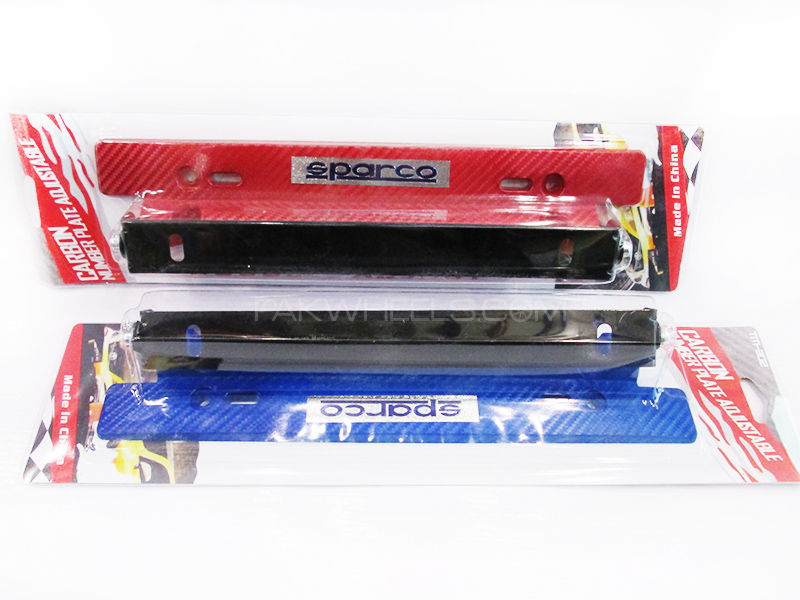 Sparco Number Plates Tilter in Lahore