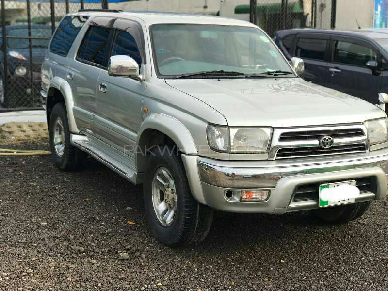 Toyota Surf Ssr X 2 7 1999 For Sale In Islamabad Pakwheels