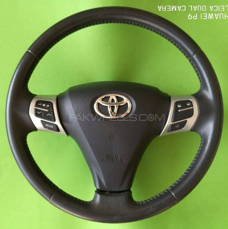 Toyota Vitz,Belta,Fielder,Passo Multimedia Steering  Image-1