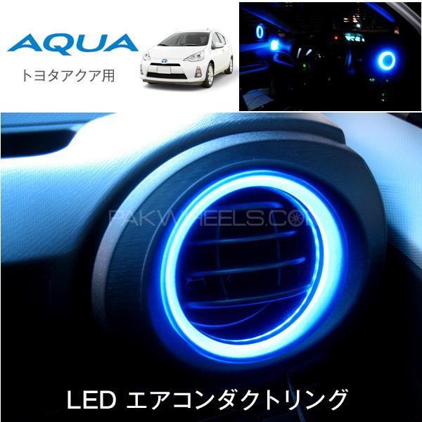Toyota Aqua Led Air Duct Blue Light Ring (Japanese) Image-1