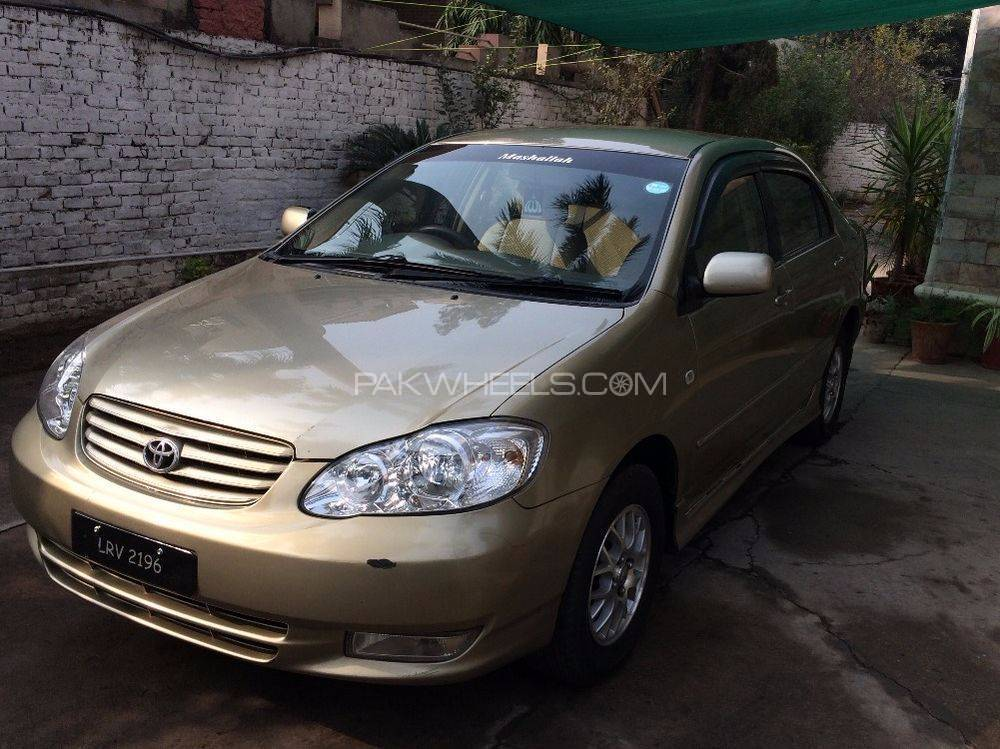 toyota corolla se saloon automatic 2004 for sale in islamabad pakwheels. Black Bedroom Furniture Sets. Home Design Ideas