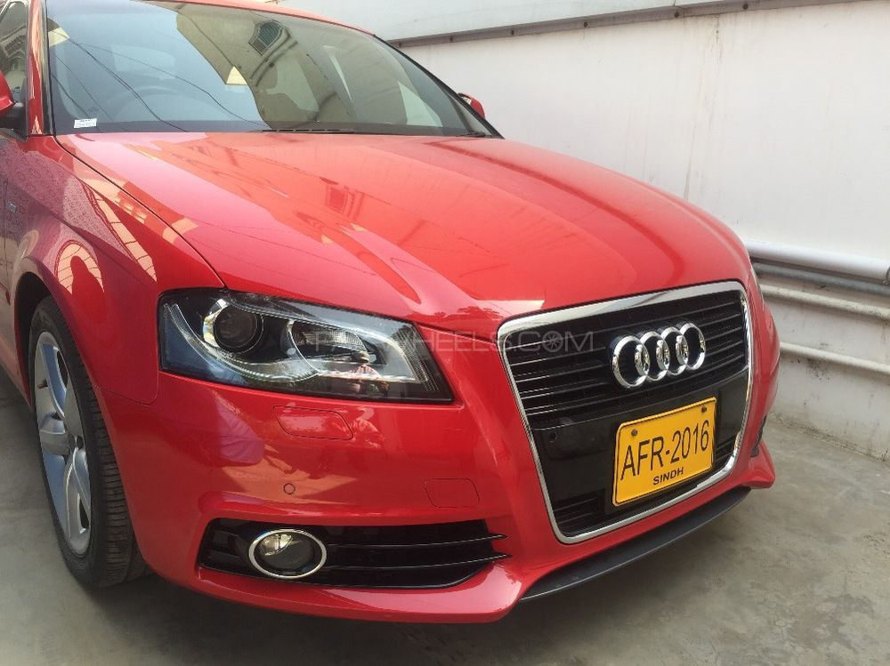 audi a3 sportback 2011 for sale in karachi pakwheels. Black Bedroom Furniture Sets. Home Design Ideas